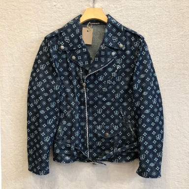 BEAMS BOY denim rider jacket