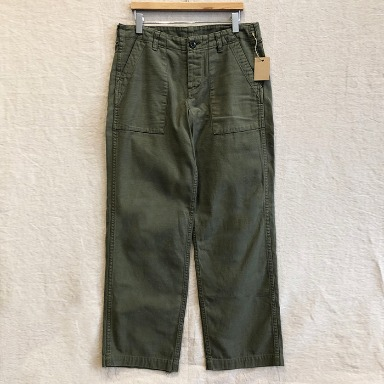 BEAMS BOY olive fatigue pants