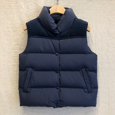 B : MING by BEAMS padding vest