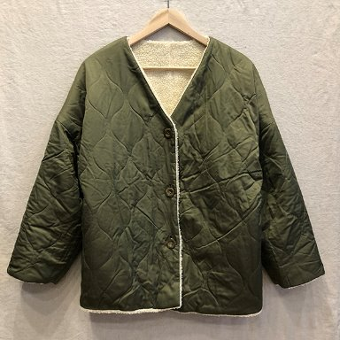 earth music & ecology reversible fleece quilting jacket